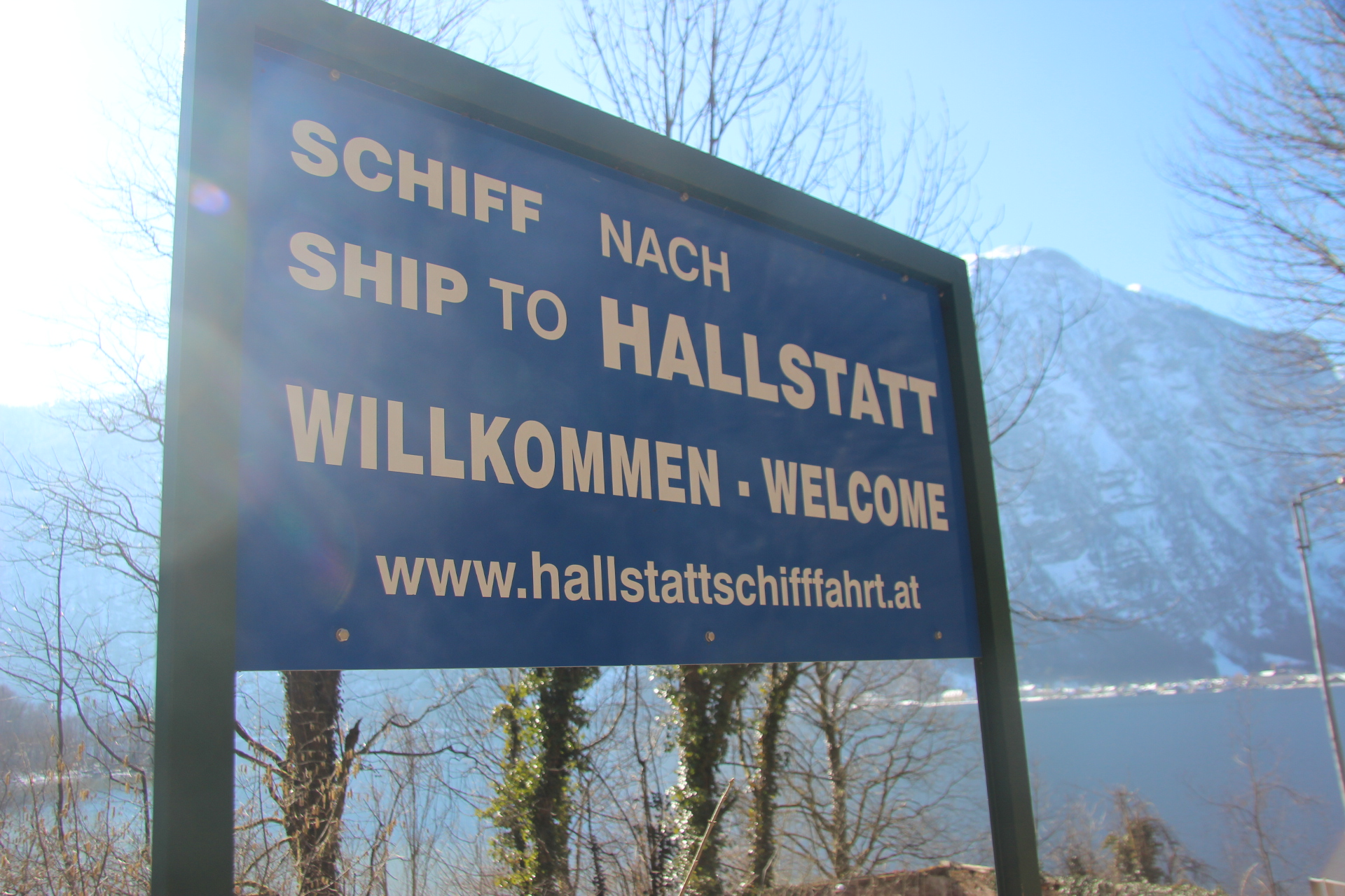 Hallstatt Welcome