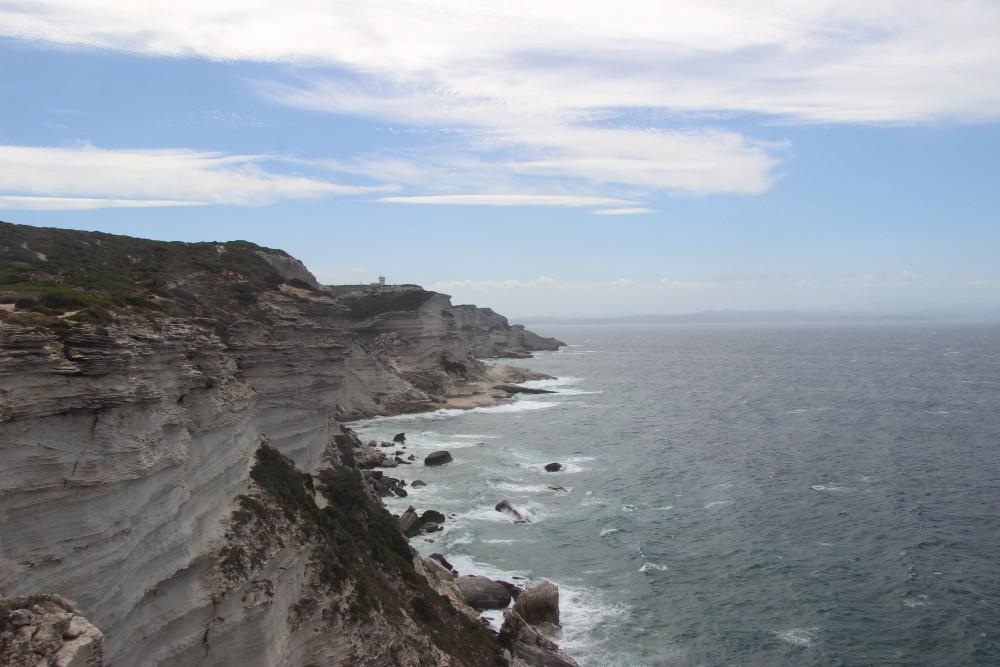 Vu falaises Corse