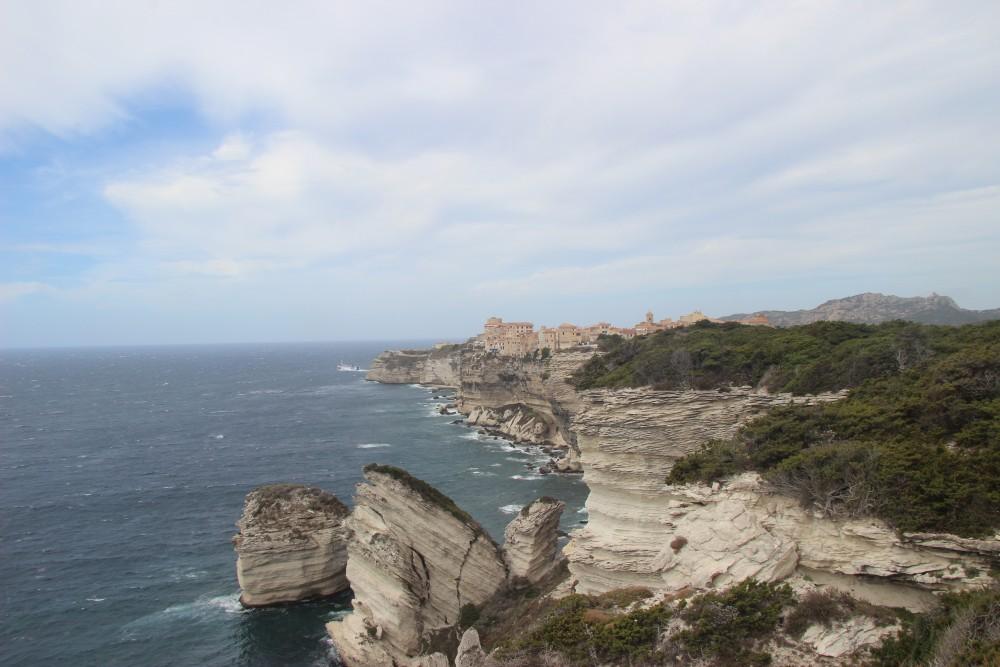 Falaise calcaire Corse