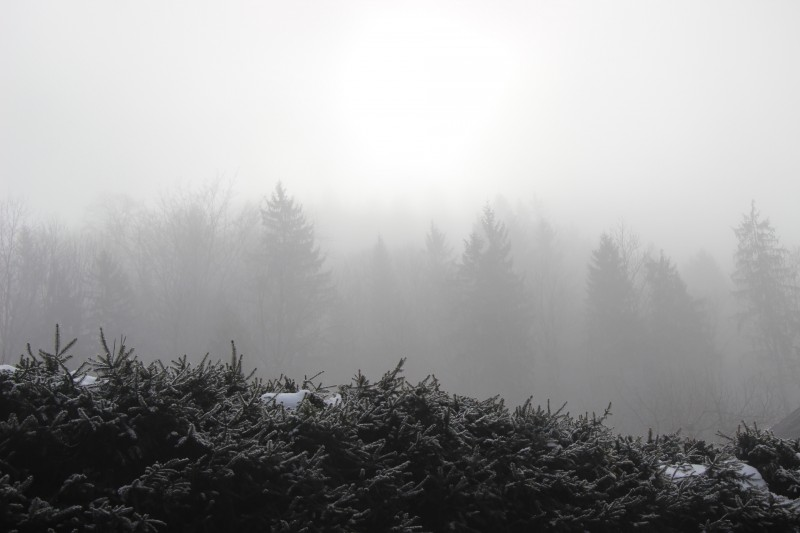 Le blizzard à Berchtesgaden