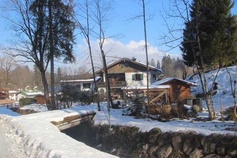 Maison alpes allemande