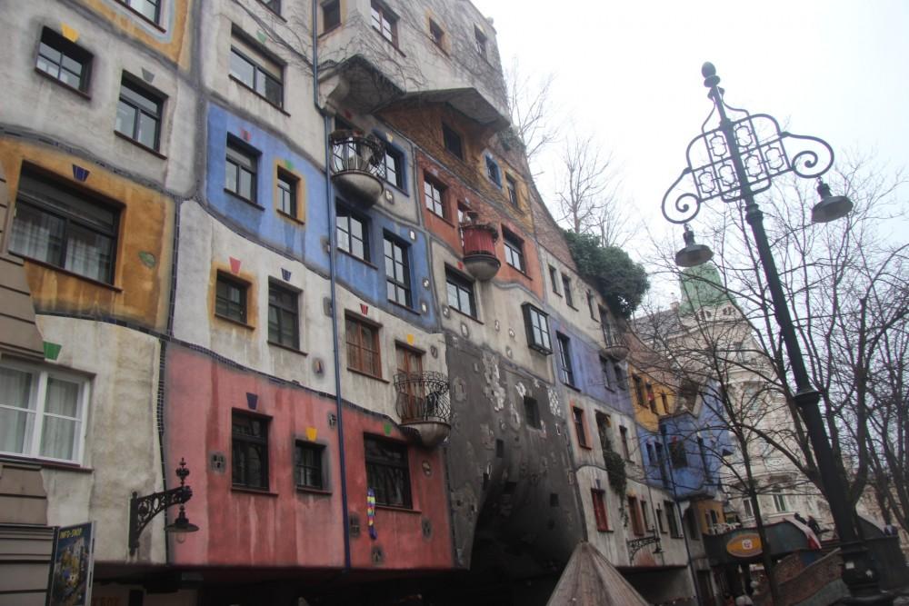 Maison tordu de Vienne