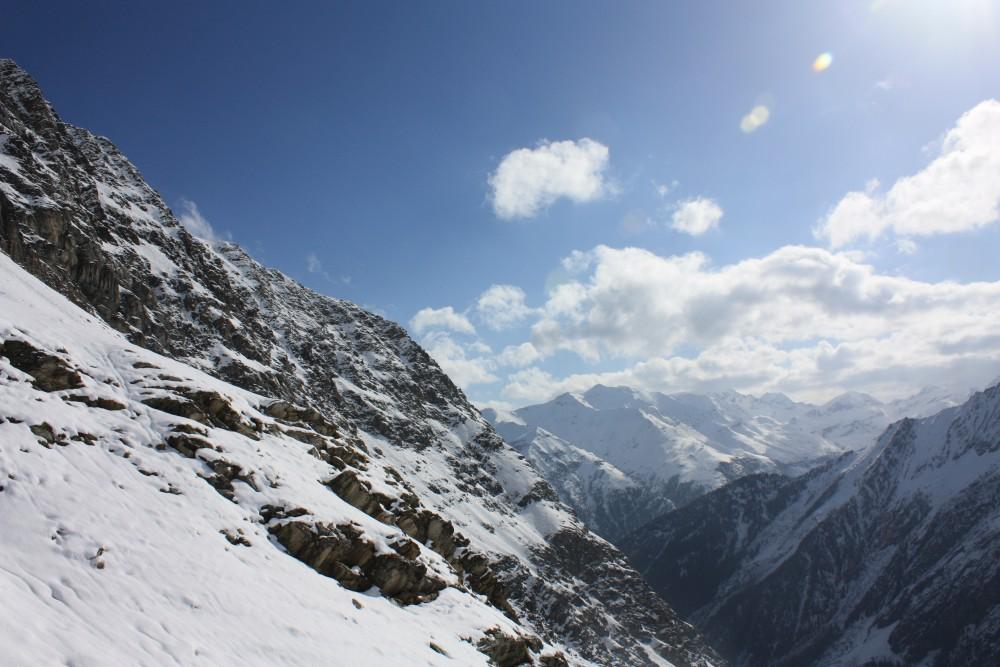 Gran Paradiso sous la neige