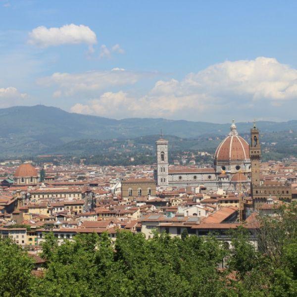 Vu sur le Dumo à Florence