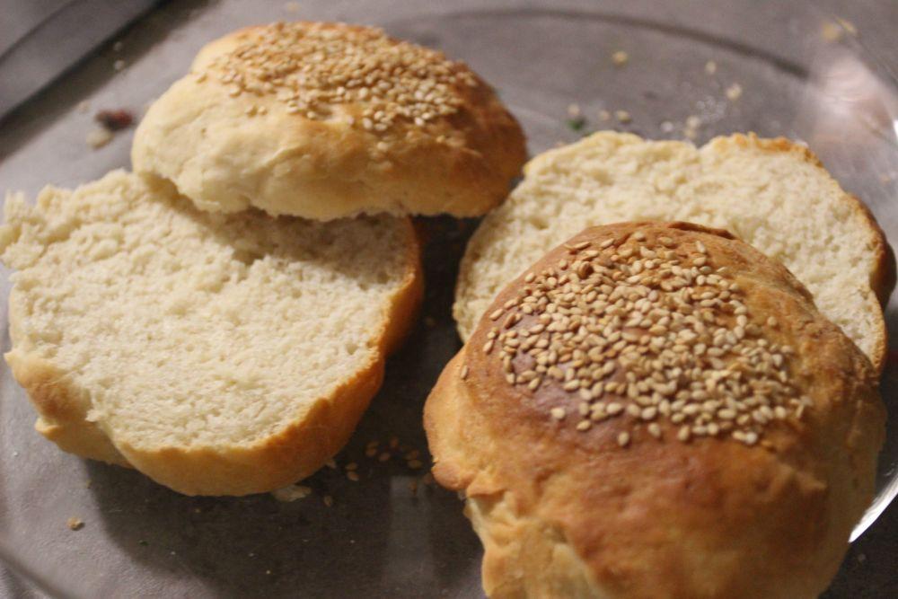 petit pain burger
